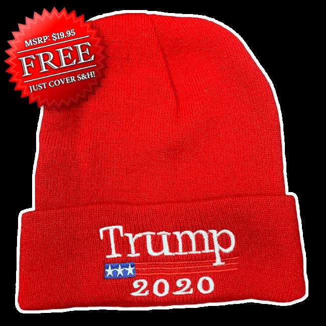 Free Trump 2020 Winter Beanie