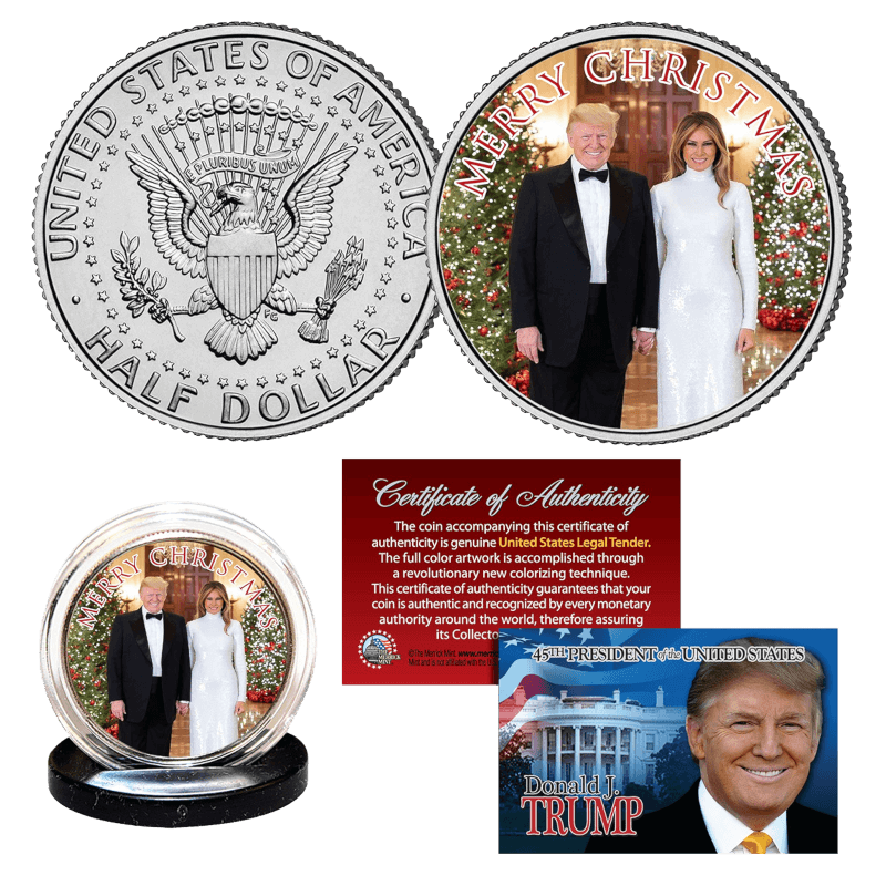 Free Trump Coin Christmas 2019
