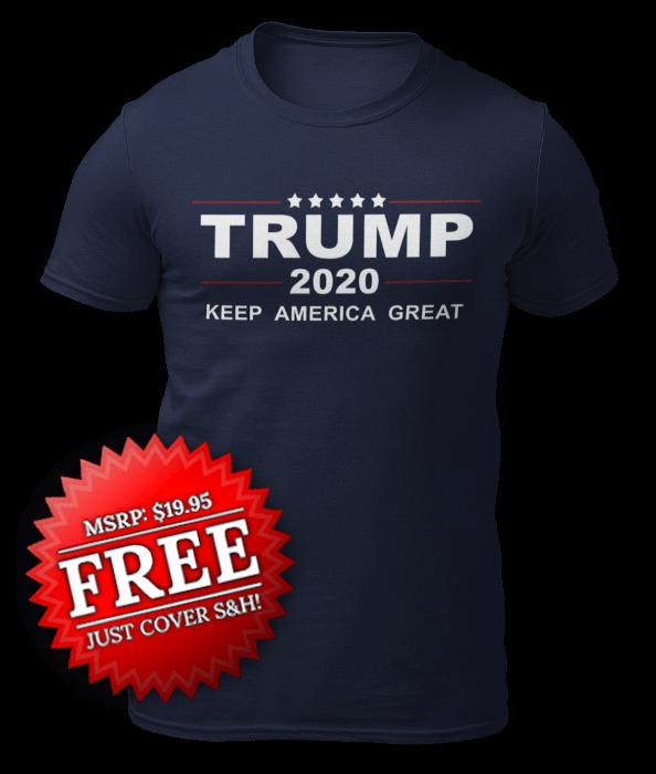 Free Trump 2020 Shirt