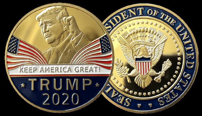 Free Trump KAG 2020 Coin