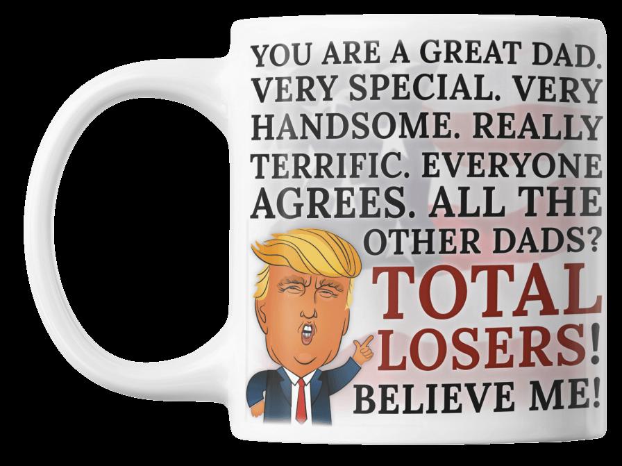 Trump Father's Day Coffee Mug