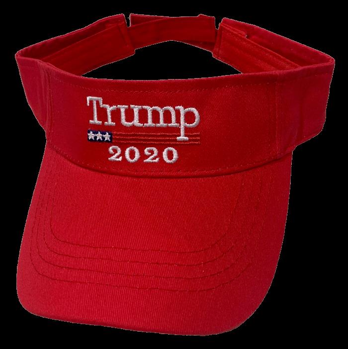 Free Trump Red Visor