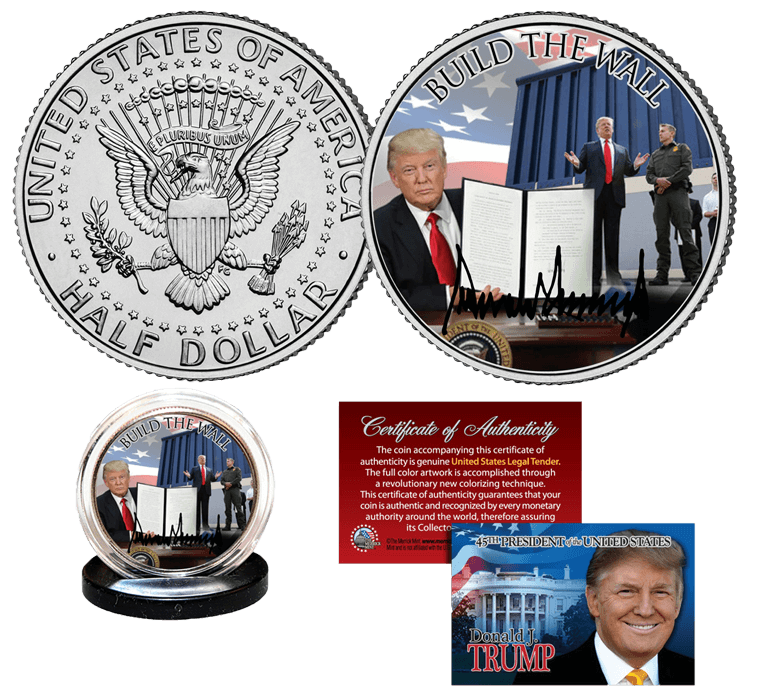 Free Trump Coin Build the Wall