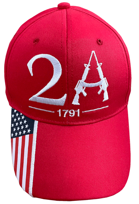 Free Red 2A Hat