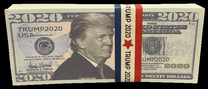 Free Trump 2020 Bill Stack