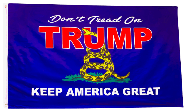 Don't Tread on Trump Flag