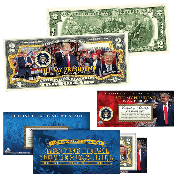 Trump Still My President $2 Bill