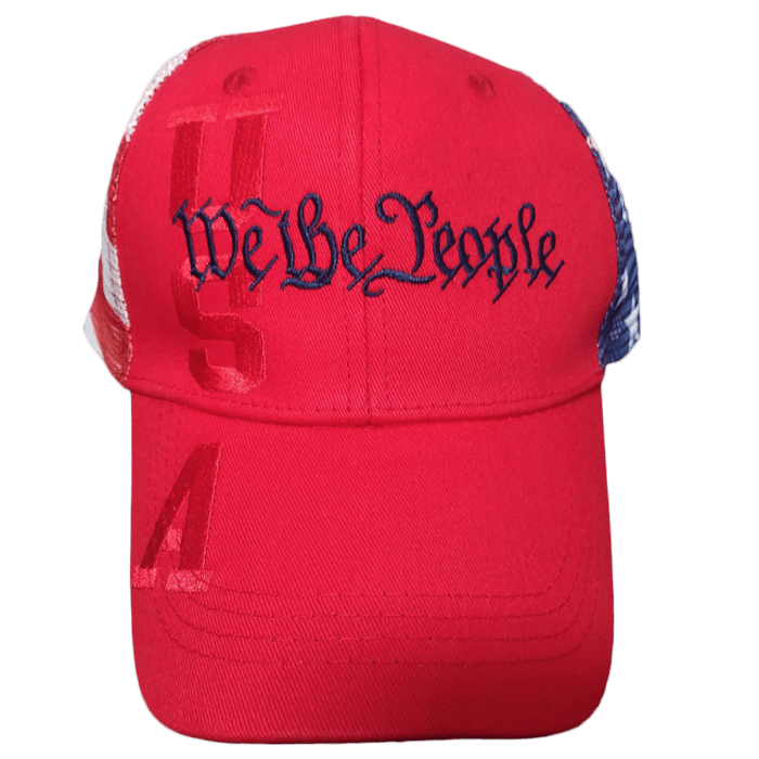 We The People Hat Red